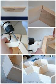 Wooden Shelves Making by Diy Tutorial How To Make Wood Honeycomb Shelves Why Spend
