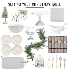 Set The Table 7 Easy Steps To Set The Table For Christmas Jillian Harris