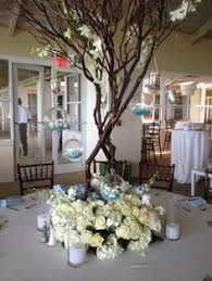 Tree Centerpiece Wedding by Pink And Bling Centerpieces Follow More Of This Trend At Http