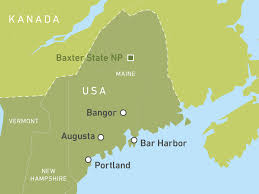 Maine State Usa Map by Maine Reisen Rundreisen Durch Neuengland Canusa