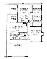 One Floor House One Storey House Floor Plan Ahscgs Com