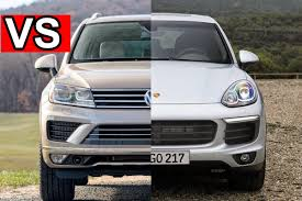 volkswagen touareg interior 2015 benim otomobilim 2015 porsche cayenne vs 2015 vw touareg visual