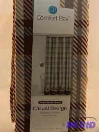 Comfort Bay Curtains Comfort Bay Shower Curtain New Comfort Bay Textured Shower