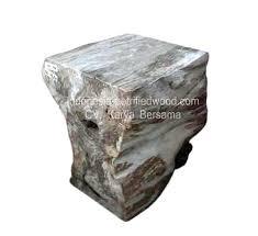 bernhardt petrified wood side table bernhardt bangor petrified wood side table petrified wood table l