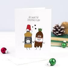 all i want for christmas u0027 whisky christmas card u2013 of life u0026 lemons