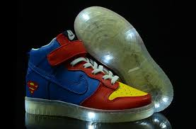light up high tops nike superman nike dunks high tops light up for kids shoes 1 jpg