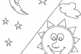 joseph and his dreams coloring pages coloring page sun moon stars