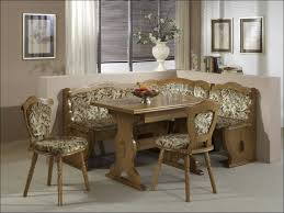 Glass Table And Chairs For Kitchen by Kitchen Room Wooden Dining Table And Bench Set Eat In Kitchen