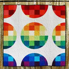 pattern art pdf pixelated circles quilt pdf pattern art school dropout