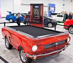 Mustang Pool Table Ford Mustang San Francisco Citizen
