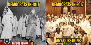 Democrat Memes - the sad evolution of the democrat party 1917 2017 meme
