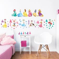 Barbie Princess Bedroom by Disney Princess Wall Stickers Walltastic