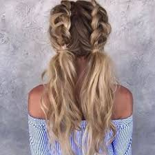 pintrest hair cute and quick braids into a bun hairstyles pinterest