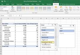 What Is A Pivot Table Excel How To Add Slicers To Pivot Tables In Excel In 60 Seconds