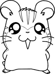 hamtaro sandy and stan anime coloring page wecoloringpage