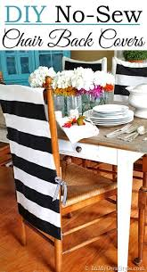 Dining Chair Cover Pattern Make Dining Chairs Without Paint These Chair Back Fabric