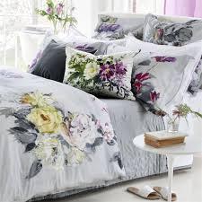 designers guild caprifoglio argento bedding