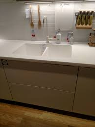 Small Kitchen Sinks by The Curious Case Of Ikea U0027s Invisible Kitchen Sink