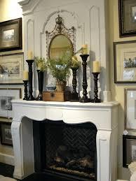 christmas decorating fireplace mantel photos ideas home decor