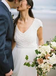 wedding flowers coast oregon coast elopement with purple mauve burgundy and white