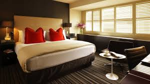 Bedroom Decorating Ideas Red Black White House Design And - Red and cream bedroom designs