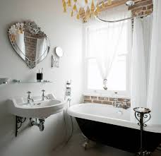 Expensive Bathroom Sinks Bathroom Black White Claw Foot Bathtub Love Shape Mirror Wall