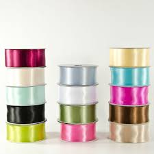 wired ribbon wholesale 1 5 wired poly satin ribbon wholesale flowers and supplies