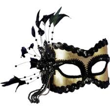 studiomix14 carnevale mferk elements goldblack mask png polyvore