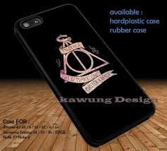 harry potter deathly hallows quote dop1301 case cover for iphone 4
