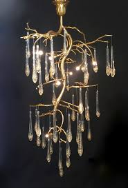 tree chandelier class lighting limited brass tree branch chandeliers