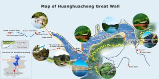 Beijing China Map by Beijing Great Wall Maps Tourist Map Of Badaling Mutianyu Jiankou