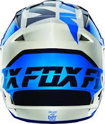fox motocross apparel racing v1 mako mens motocross helmets