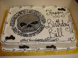 biker birthday cake