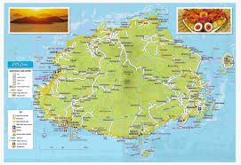 Large Map Of The World Large Detailed Tourist Map Of Viti Levu Fiji Viti Levu Fiji Large
