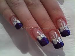 glitter french tip nail designs choice image nail art designs