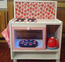 play kitchen from furniture diy play kitchen tips make a green and affordable play kitchen