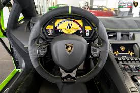 inside lamborghini ithaca 2017 lamborghini aventador sv roadster sold and delivered