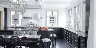 black and kitchen ideas 20 black and white kitchen design decor ideas
