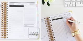 design planner review adore daily planner 2016 happy splat design