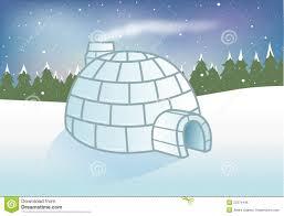 igloo snowy background royalty free stock image image 22374446