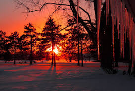 winter nature wallpapers winter sunset wallpapers wallpaper cave