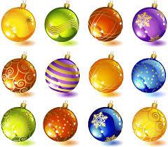 christmas balls colorful christmas balls vector vector graphics