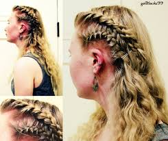 lagertha lothbrok hair braided viking hair style on pinterest lagertha lagertha hair and