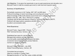 Agile Testing Resume Sample Performance Tester Objective Resume Roustabouts Oil Gas