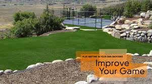 Putting Turf In Backyard Backyard Greens Utah Artificial Golf Greens U0026 Putting Greens