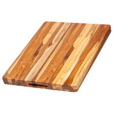 teak cutting board teak haus 20x15x1 5 edge grain