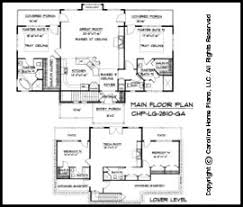 craftsman floor plan large craftsman house plan chp lg 2810 ga sq ft large craftsman
