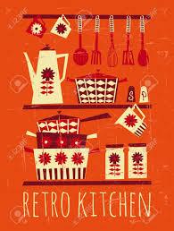 affiche cuisine vintage chambre affiche cuisine vintage affiche avec des articles de