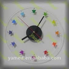 lighted digital wall clock luxury acrylic lighted digital wall clock buy lighted digital wall