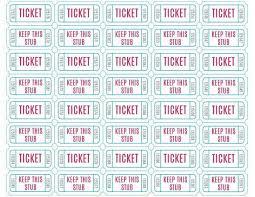 raffle tickets template free online best 20 ticket template ideas